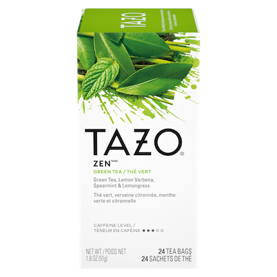 TAZO® Hot Tea Zen Green 6 x 24 bags - We've got our own thing brewing: dare to be different