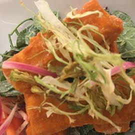 Buffalo Mahi Mahi Ranch Salad