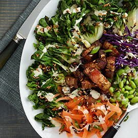 Grilled Bok Choy Salad