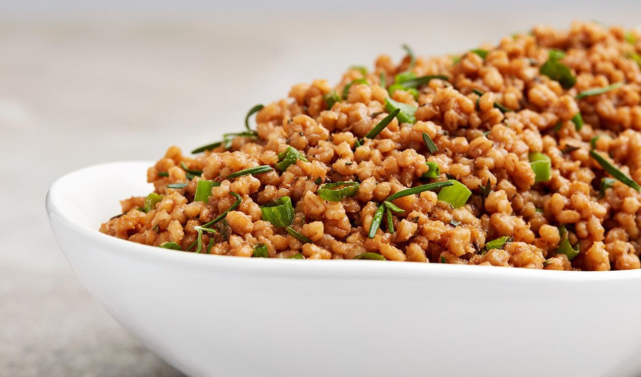 Barley Risotto with Demi Glace and Rosemary – recipe