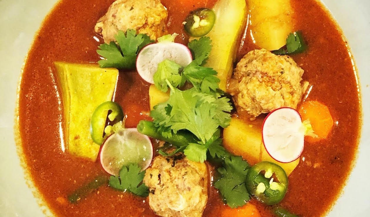 Caldo De Albondigas (Mexican Meatball Soup) – recipe