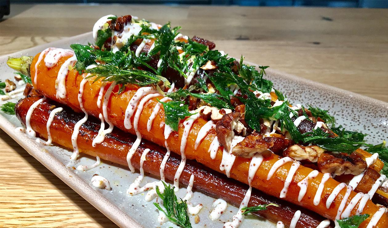Caramelized Carrots with Za'atar Mayonnaise – recipe