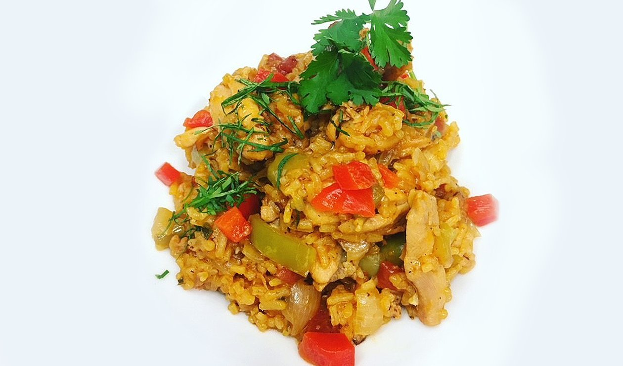 Caribbean Chicken and Rice – recipe
