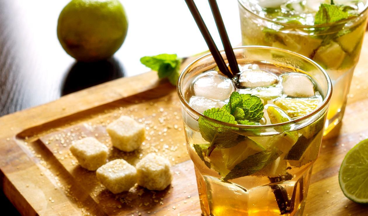 Green Tea Mojito  – recipe
