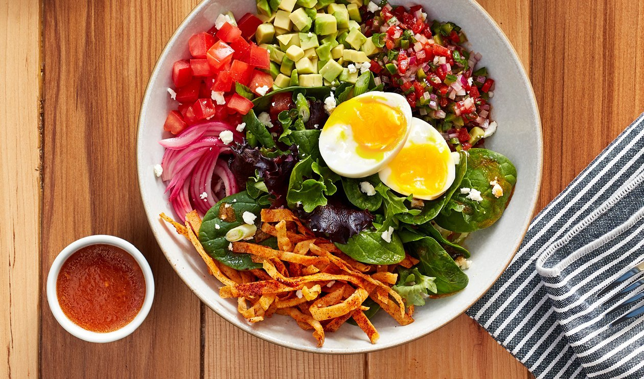 Huevos Rancheros Salad Bowl – recipe