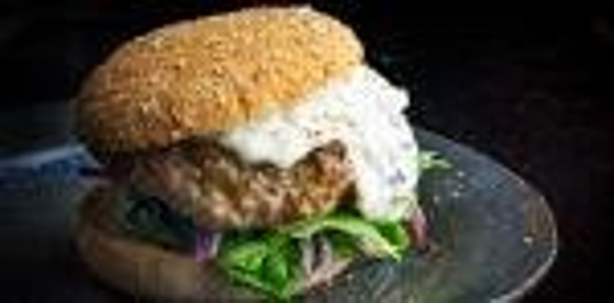 Lamb and Eggplant Burger – recipe