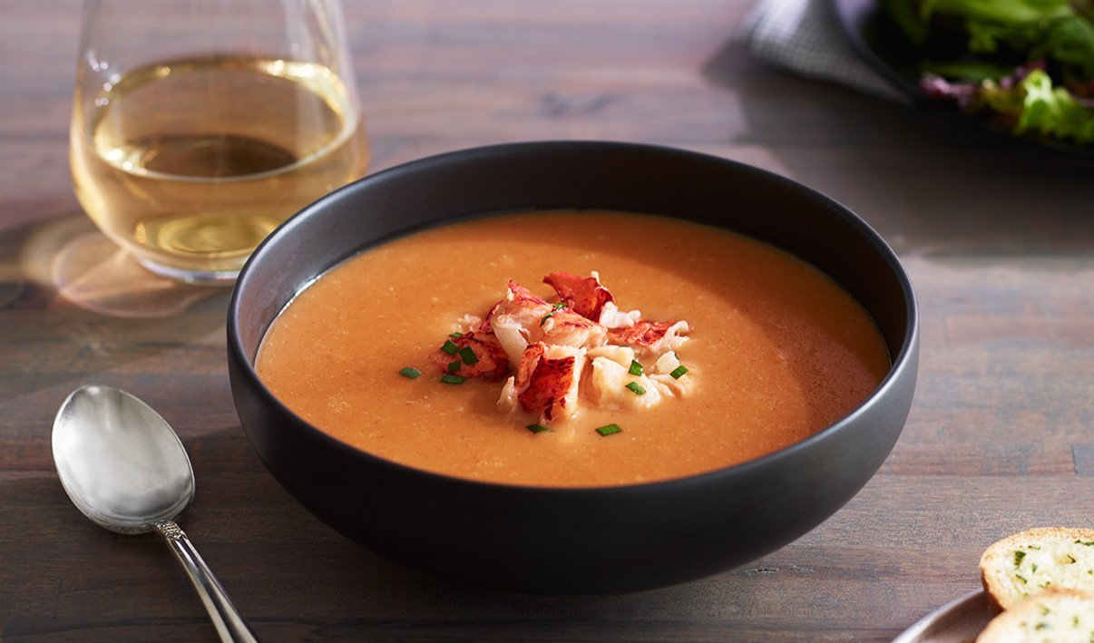 Lobster Bisque – recipe | Unilever Food Solutions US