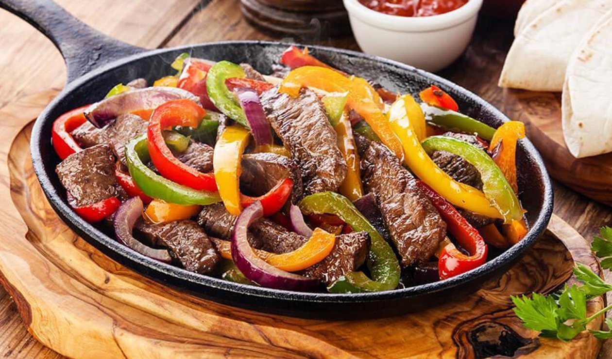 Mexican Fajitas with Corn Tortillas – recipe