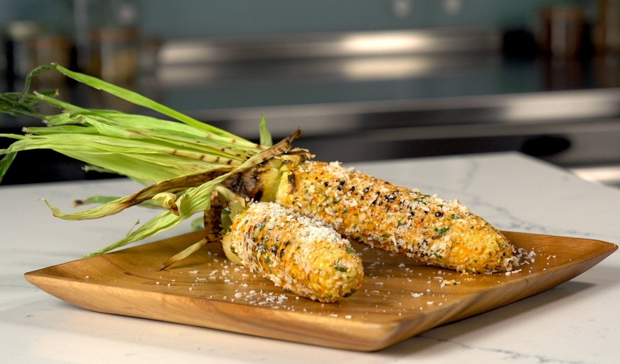 Mexican-Style Charred Corn on the Cob
