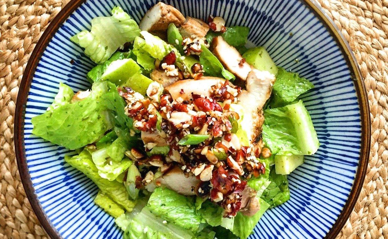 Peanut Salsa Chicken Salad – recipe