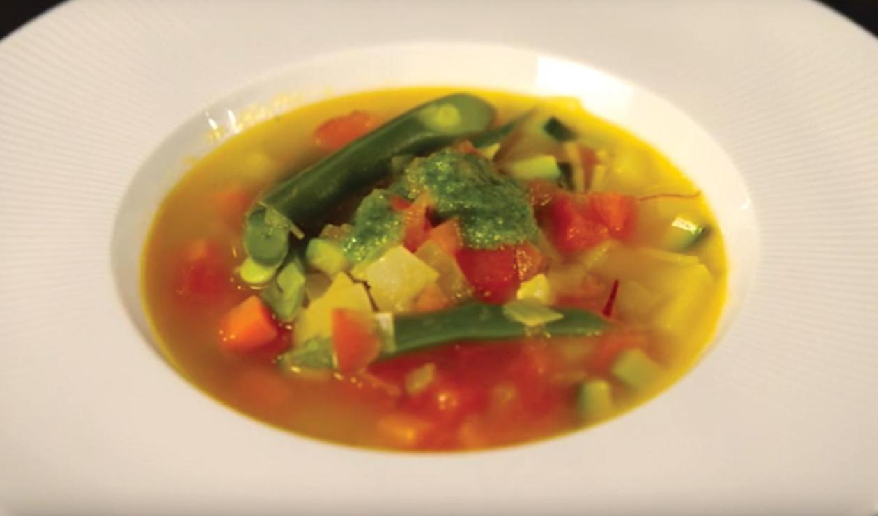 Pistou Soup  – recipe