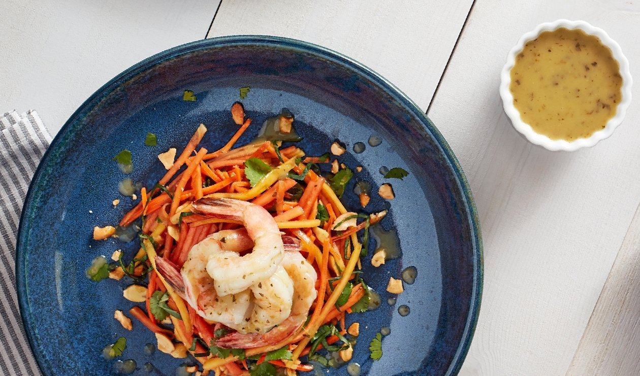 Spicy Papaya and Shrimp Salad – recipe