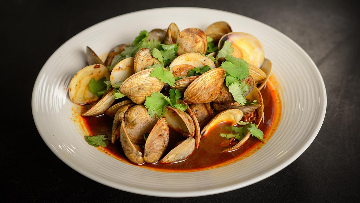 Surf n' Turf Clams – recipe