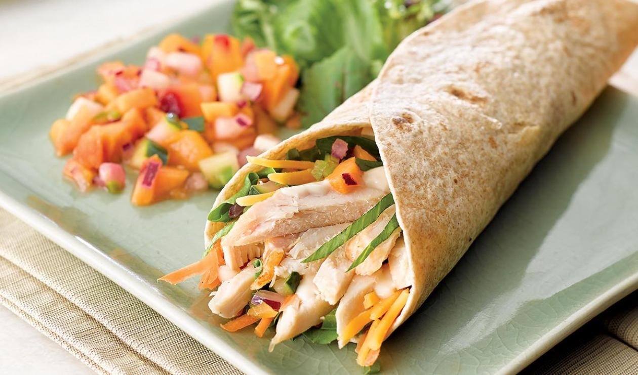 Sweet Score Chicken Wrap – recipe