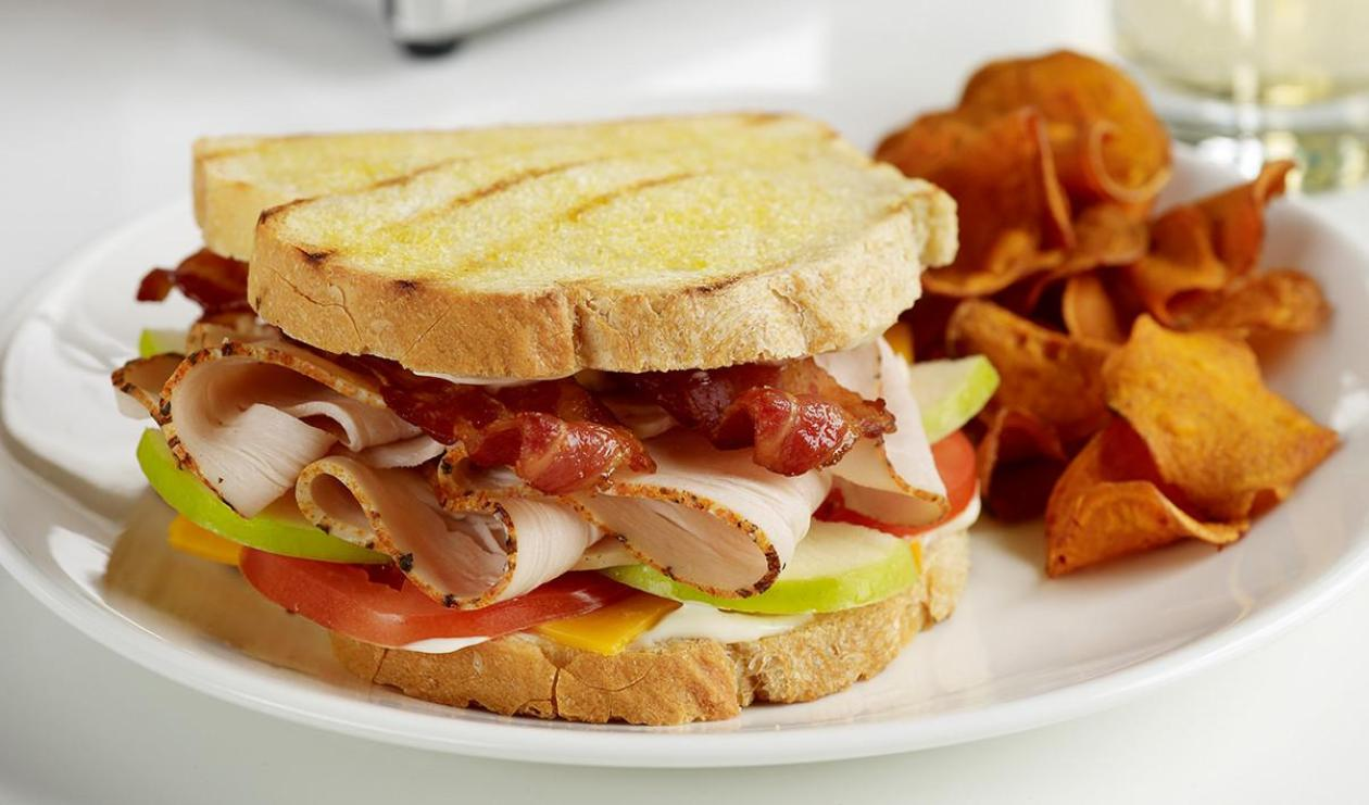 Turkey, Bacon and Apple Sandwich – recipe