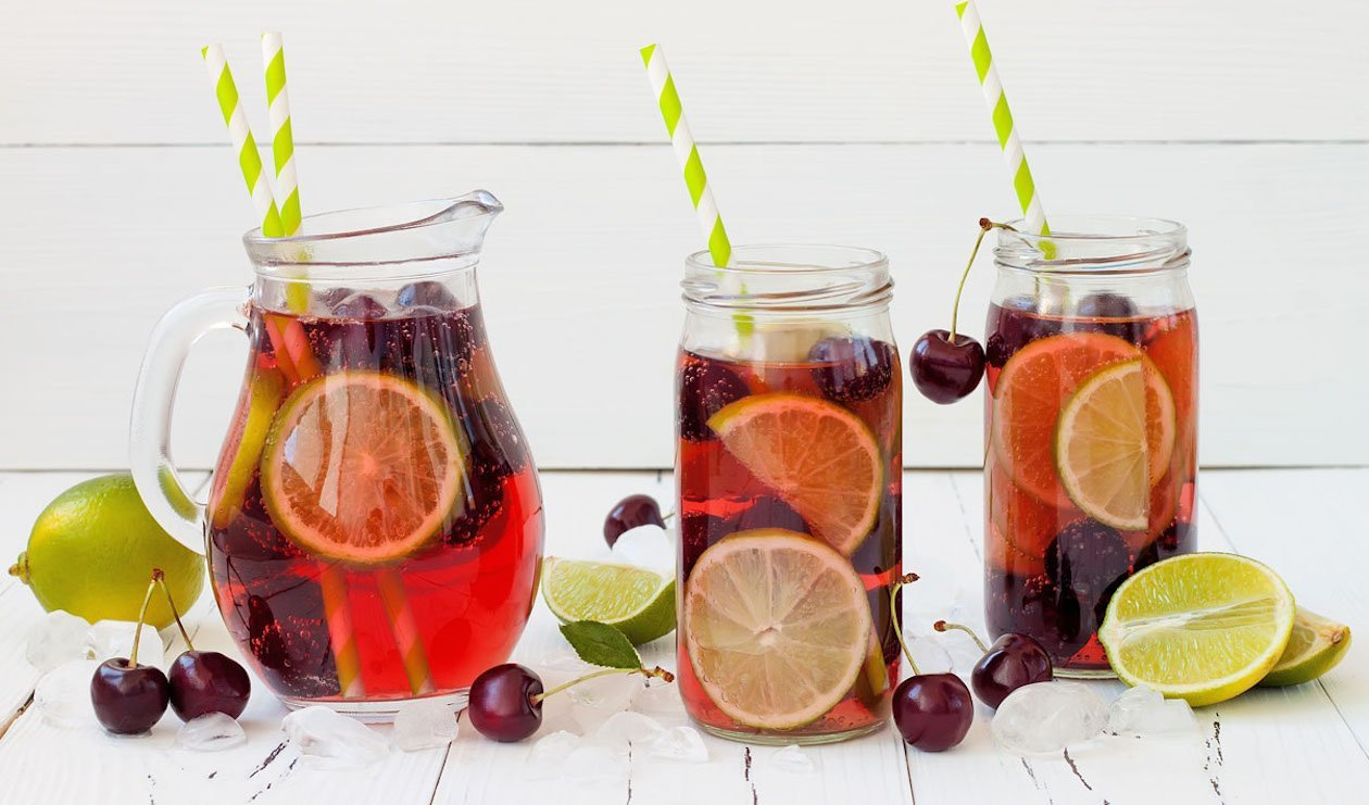 Twisted Cherry Lime Iced Tea – recipe