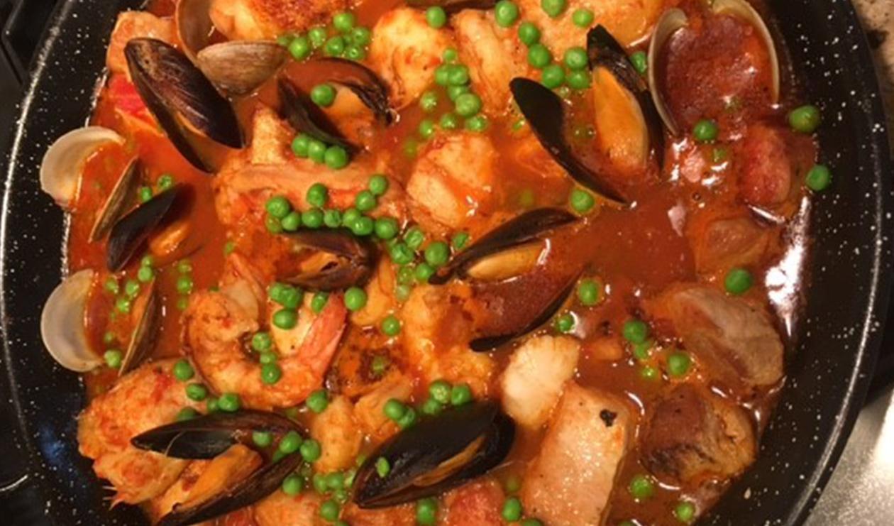 Zarzuela De Mariscos – recipe