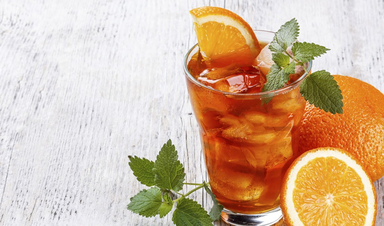 Orange Raspberry Tea Blast
