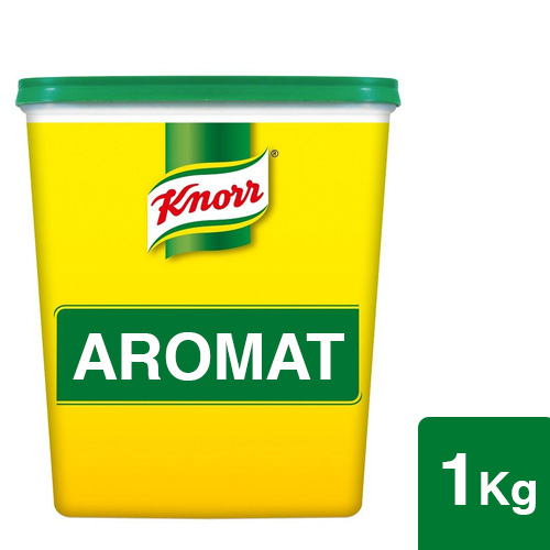 Knorr Aromat Seasoning Powder 1kg - Aromat Seasoning Powder is the favourite seasoning of Western chefs
