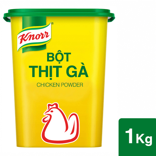 Knorr Chicken Powder 1kg - Knorr Chicken Powder is made with high chicken quality to make the dish more delicious