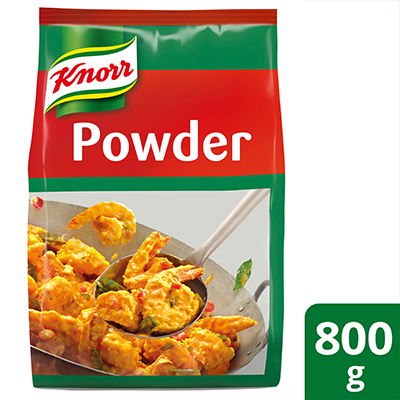 Knorr Golden Salted Egg Powder 800g - Knorr Golden Salted Egg is a versatile ingredient for creating endless innovative salted egg dishes