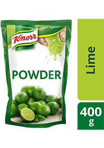Knorr Lime Seasoning Powder 400g - A versatile seasoning with refreshing test of lime