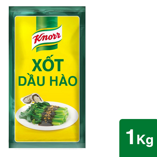 Knorr Oyster Flavoured Sauce 1kg - Knorr Oyster Sauce helps you prepare a smooth, well balanced dish