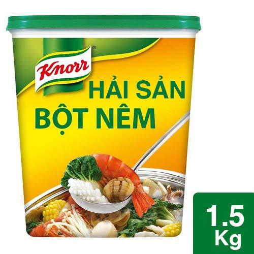 Knorr Seafood Seasoning Powder 1.5kg - Knorr Seafood Seasoning Powder is made from real seafood to intensify the seafood aroma and taste