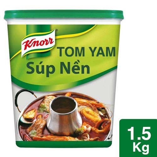 Knorr Tom Yam Paste 1.5kg - Knorr Tom Yam Paste delivers a typical Thai taste with Kaffir lime leaf