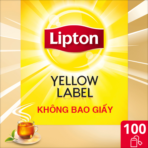 Lipton Yellow Label Tea non-envelope 100x2g - Lipton Yellow Label Tea brings you tea of a high and consistent quality