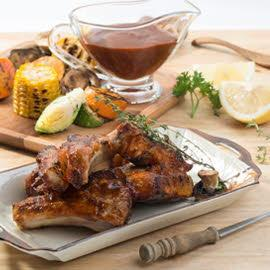 Honey Hickory BBQ Pork Spare Ribs