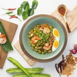 Spicy Prawns and Winged Bean Salad