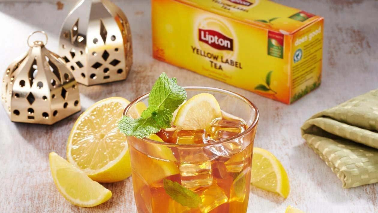 Lemon Date Iced Tea