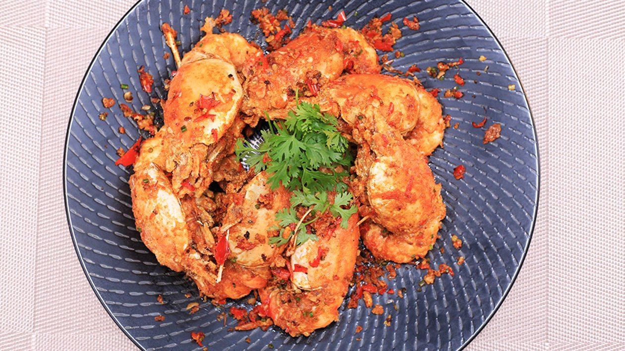 Stir-Fry Chili Lime Prawn