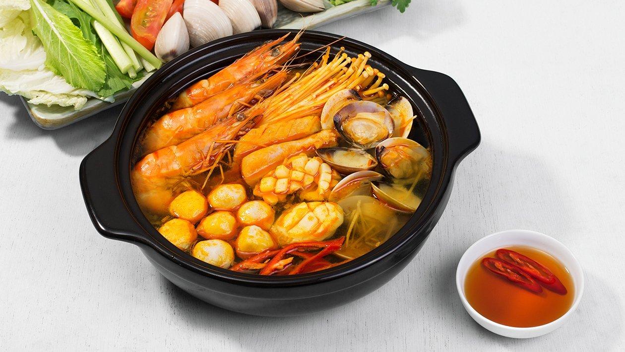 Thai Tom Yum Hot Pot