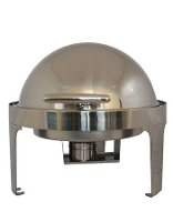 Steel King 6.5 Litre Round Roll Top Chafing Dish