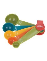 Trudeau 5pc Multicolour Measuring Spoons