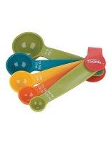 Trudeau 5pc Multicolour Measuring Spoons