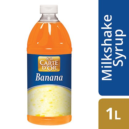 CARTE D'OR Banana Milkshake Syrup