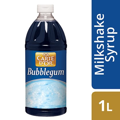 CARTE D'OR Bubblegum Milkshake Syrup -