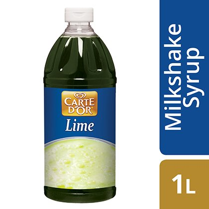 CARTE D'OR Lime Milkshake Syrup
