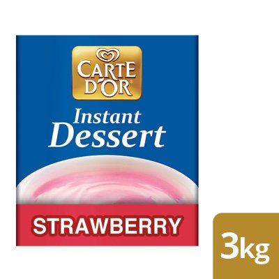 CARTE D'OR Strawberry Instant Dessert -