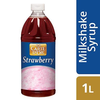 CARTE D'OR Strawberry Milkshake Syrup -