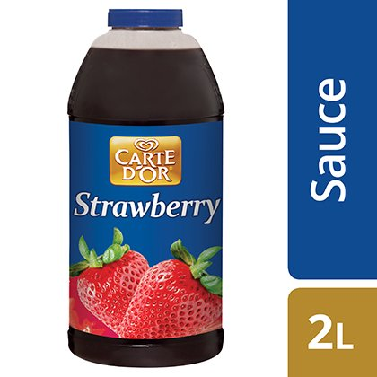 CARTE D'OR Strawberry Sauce