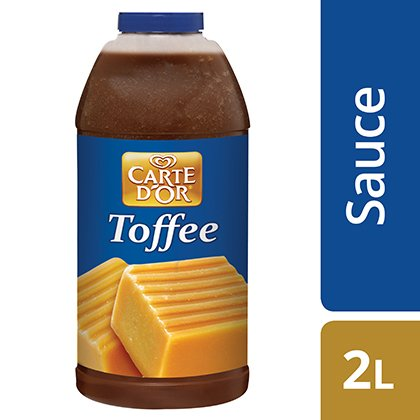CARTE D'OR Toffee Sauce -