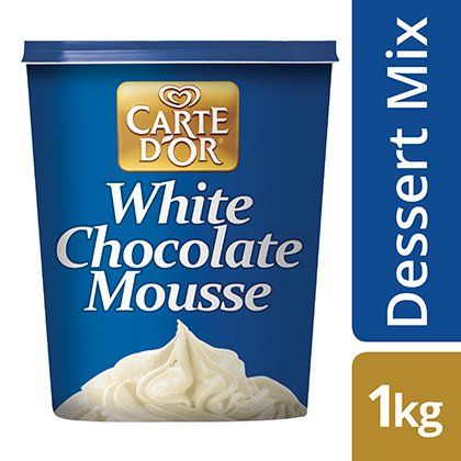 CARTE D'OR White Chocolate Mousse -