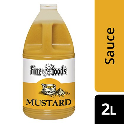 Fine Foods Pourable Mustard Sauce