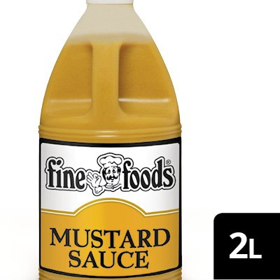 Fine Foods Pourable Mustard Sauce  -
