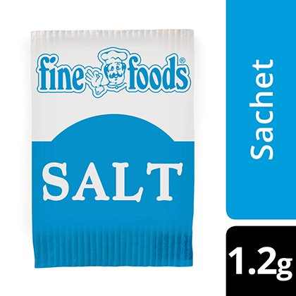 Fine Foods Salt Sachets -