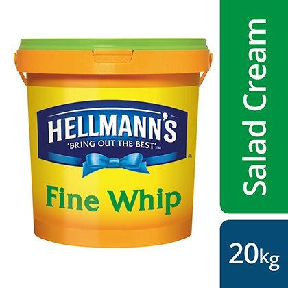 Hellmann's Fine Whip Reduced Oil Salad Cream 20kg